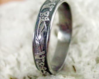 Hand Made Sterling Silver Ring - ANY SIZE - Creative Mode