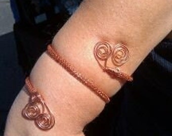 woven wire armband