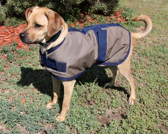DOG COAT size 18 - durable and warm - made to last - great for active dogs