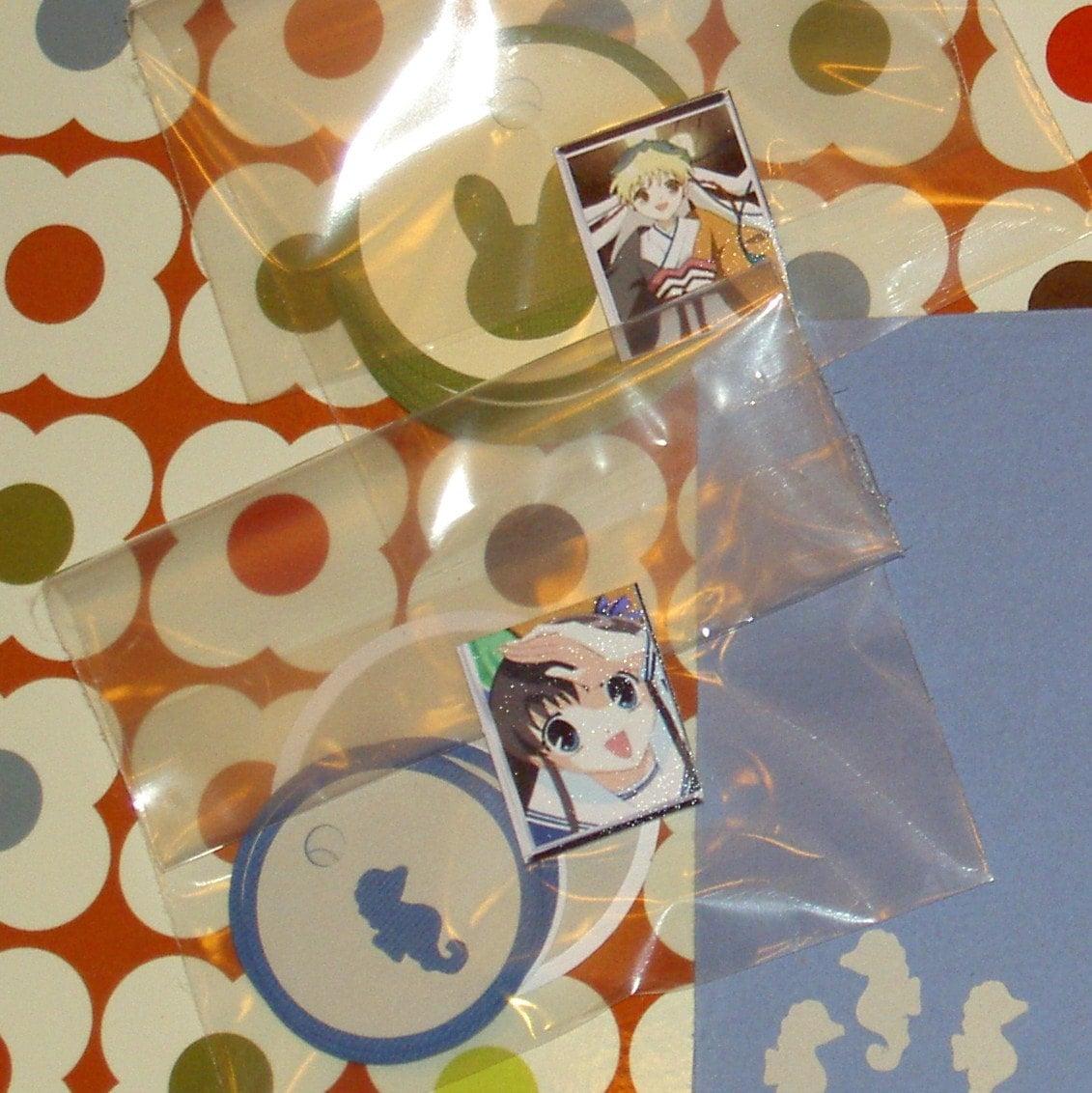 Anime Fruits Basket Bunny And Seahorse Handmade Tags