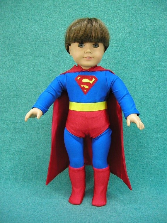 Superboy outfit for American Girl Doll