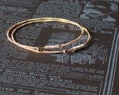 Guitar String Bangle Bracelet Set 7