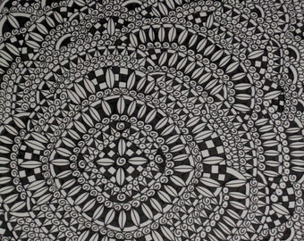 Original Pen and Ink Drawing PATTERN
