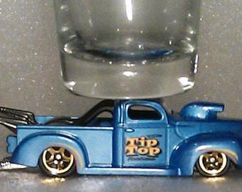 The ORIGINAL Hot Shot, Classic Hot Rods, Shot Glass, '40 Ford Pick Up Truck, Hot Wheels