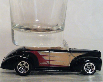 The ORIGINAL Hot Shot, Classic Hot Rods, Shot Glass, Special Edition '40 Ford Convertible, Hot Wheels