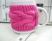 mug cosy tea coffee cup cozy warmer knitted