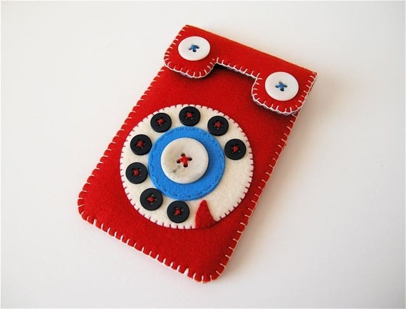 Phone iPhone 3G case No.49 (red\/blue)