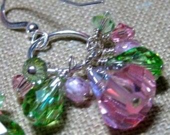 SALE Spring Fever Cluster Earrings - E772