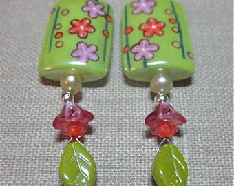 Spring Has Sprung Earrings - E264