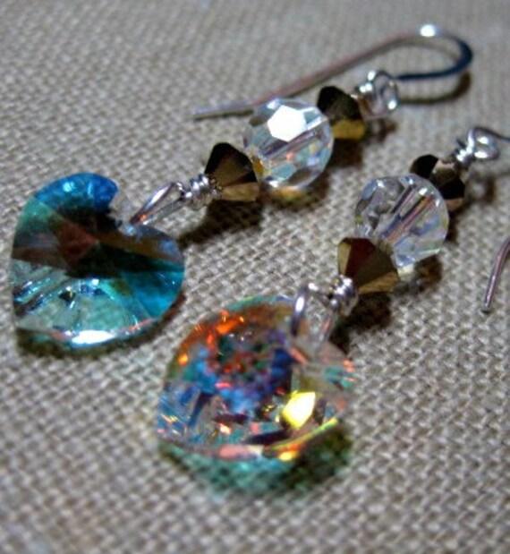 Winter Hearts Earrings - E742