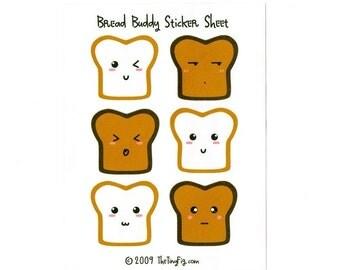 Bread Buddy Sticker Sheet