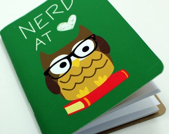 Nerd At Heart Pocket Notebook