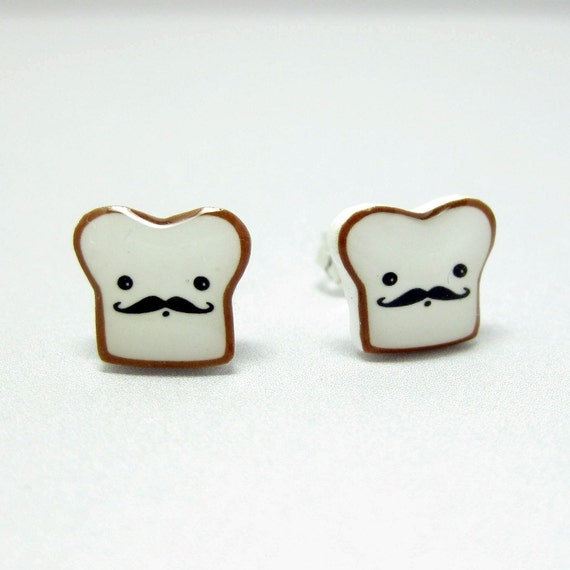 French Toast Post Earrings
