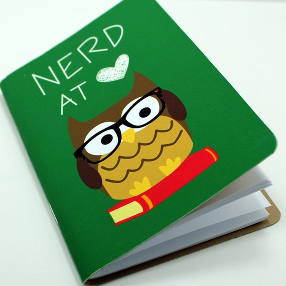 Nerd At Heart Pocket Notebook