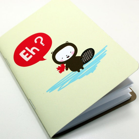 Canadian Beaver Pocket Notebook
