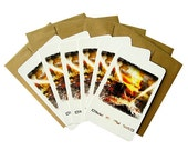City In My Mind - Fine Art Postcards - 10 cards with 10 Recycled Brown Kraft envelopes. Surreal.