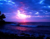 Bliss - A Hawaiian Sunset - Original Metallic Photography Print