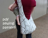 Sling tote - PDF sewing pattern