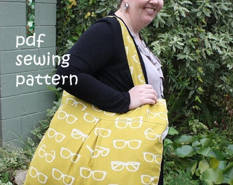 Overflow bag - PDF sewing pattern
