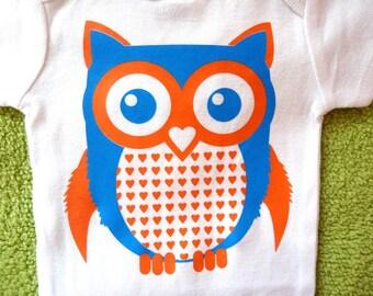 Owl Onesie - Also in T-shirts
