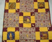 Country Charmer Kitty Quilt - Cat Lovers - Cat Beds - Felines
