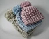 Plumknit  Pom Pom Hat Pattern