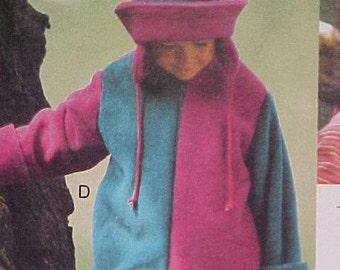 Sweet Pattern for Fleece Jackets UNCUT