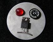 Major Metal Head - robot head magnet