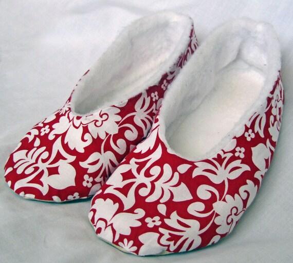 Women's Ballet Flat Sewing Pattern PDF. Sizes 5-11