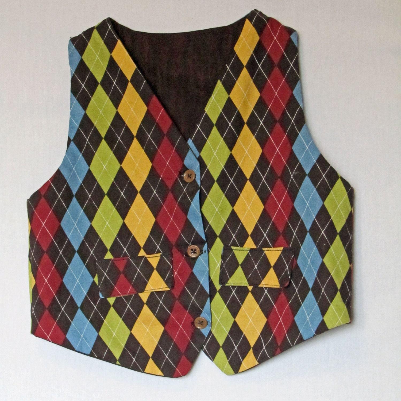 Gents and Ladies Reversible Vest Sewing Pattern PDF epattern - Baby Boy Dresses 0-3 Months