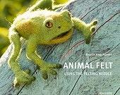 Animal Felt Using The Felting Needle - RESERVED FOR Novembersfyre