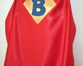 Personalized Red Superhero Cape