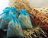 Cedar Sweetgrass Blend Drawer and Closet Sachets (pack of 4) - sweet and spicy scent sachets by winddancerdesigns