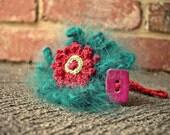 Evangeline Crochet Corsage Bracelet