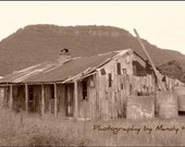 The Old House, Hartley, New South Wales, Australia, Sepia, 8x6