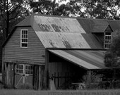 The Old Barn House, Grose Wold, New South Wales, Australia, Black and White, 9x6, Old Building