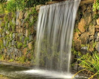 Surreal Photograph, Waterfall Photograph,  Australia, 9X6 Photograph, Home Decor, Wall Art