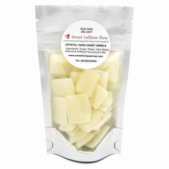 Egg Nog Delight - Crystal Jewels Barley Hard Candy Sweets - 2oz bags