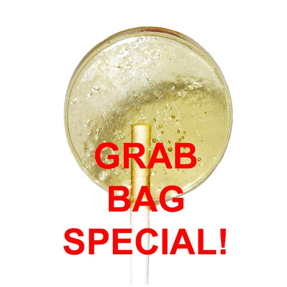 WEDNESDAY SPECIAL - All Natural LOLLIPOPS - Grab Bag Special