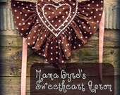 Mama Byrd's Sweetheart Apron Pattern PDF