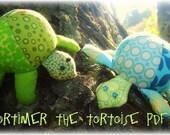 Mortimer the Tortoise PDF Pattern
