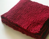 The 7.4V Scarf in Cherry Red
