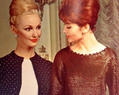 Bernat Glitter 'n Luster 60s knitting pattern book for women  no. 116 great evening styles