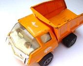 Yellow Tonka Dump Truck,  1970s Vintage Metal Toy