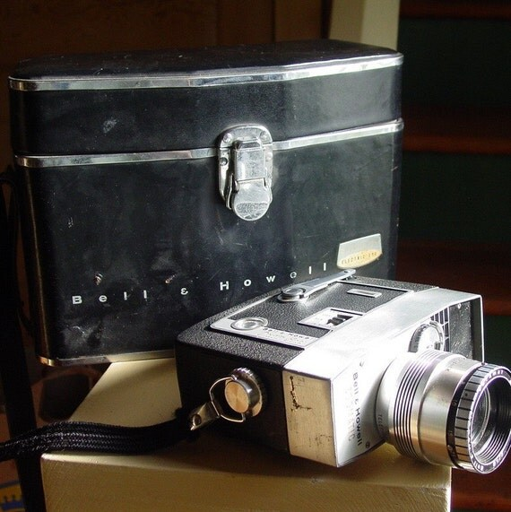 Bell and Howell Zoomatic Director Series  - 1960s 8mm Movie Camera with JFK Connection