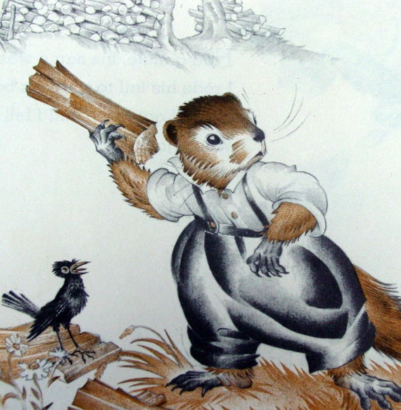 How Much Wood Would a Woodchuck Chuck 1950s by ...