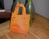 Custom order for Kim Miniature bag in orange