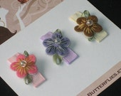 Boutique Flower Baby Snap Hair Clips, Infant Snap Clips, Toddler Hair Clips, Baby Hair Clips, baby shower gift, Buy 3 Items, Get 1 Free