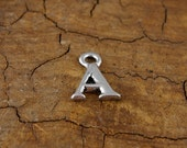 Small Letter A Alphabet Charm