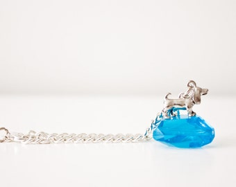 Wiener Dog Charm Bracelet